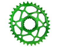 Absolute Black Cannondale Hollowgram DM Oval Ring (Green)