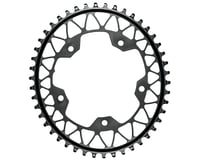 Absolute Black Gravel 1X Oval Chainring (Black) (110mm BCD)