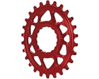 Absolute Black Direct Mount Race Face Cinch Oval Ring (Red) (Boost)