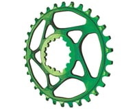 Absolute Black Spiderless GXP Direct Mount Ring (Green)