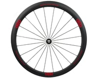 Alto Wheels CC40 Carbon Front Clincher Road Wheel (Red)