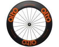 Alto Wheels CC86 Carbon Front Clincher Road Wheel (Orange)