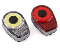 Axiom Lights Corona Headlight & Tail Light Set (Silver)