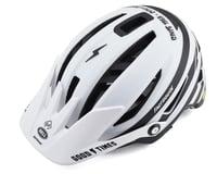 Bell Sixer MIPS Mountain Bike Helmet (Stripes Matte White/Black)