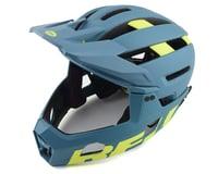 Bell Super Air R MIPS Helmet (Blue/Hi Viz)