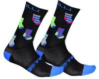 Castelli Men's Pazzo 18 Socks (Black)