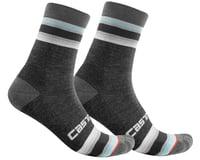 Castelli Striscia 13 Women's Socks (Dark Grey)