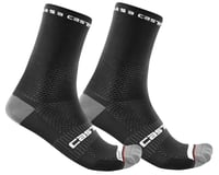 Castelli Rosso Corsa Pro 15 Sock (Black)