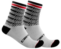 Castelli Avanti 12 Sock (Black/White)