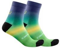 Castelli Gradient 10 Women's Sock (Malachite Green)