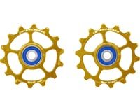 CeramicSpeed SRAM Eagle-14 Pulley Wheels (Gold) (1 x 12 Speed) (Stainless Steel)