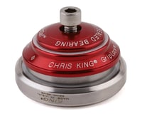 """Chris King DropSet 2 Headset (Red) (1-1/8"""" to 1-1/2"""") (45°)"""