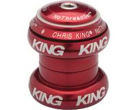 "Chris King NoThreadSet Headset (Red Bold) (1-1/8"")"