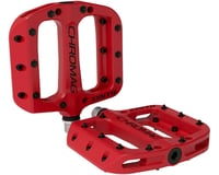 Chromag Synth Composite Platform Pedals (Red)