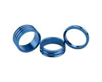 "Ciari Anelli 1-1/8"" Headset Spacers (Blue) (5, 10, & 15mm)"