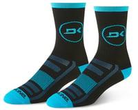 Dakine Singletrack Cycling Socks (Cyan/Black)