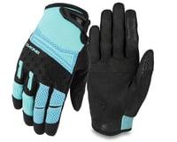 Dakine Women's Cross-X Bike Gloves (Nile Blue)