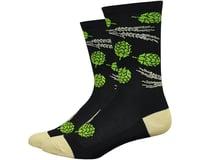 "DeFeet Aireator 6"" Hops & Barley Socks (Black)"