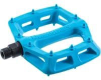 """DMR V6 Pedals (Blue) (Plastic Platform) (9/16"""")"""