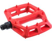 """DMR V6 Pedals (Red) (Plastic Platform) (9/16"""")"""