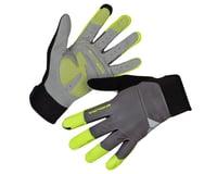 Endura Windchill Gloves (Hi-Viz Yellow)