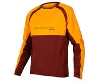 Endura MT500 Burner Long Sleeve Jersey II (Tangerine)