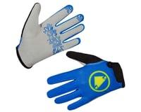 Endura Kids Hummvee Gloves (Azure Blue)
