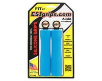 ESI Grips FIT XC Grips (Aqua)