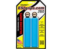 ESI Grips Racer's Edge Silicone Grips (Aqua) (30mm)