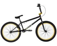 """Fit Bike Co 2021 Series 22 BMX Bike (21.125"""" Toptube) (Gloss Black)"""