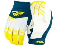 Fly Racing F-16 Gloves (Yellow/White/Navy)