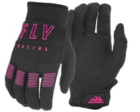Fly Racing F-16 Gloves (Black/Pink)