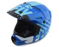 Fly Racing Kinetic K120 Helmet (Blue/White)