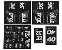 Fox Suspension Heritage Decal Kit for Forks & Shocks (White)