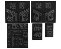 Fox Suspension Heritage Decal Kit for Forks & Shocks (Stealth)