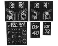 Fox Suspension Heritage Decal Kit for Forks & Shocks (Silver)