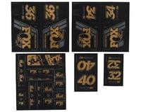 Fox Suspension Heritage Decal Kit for Forks & Shocks (Gold)