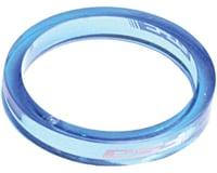 "FSA PolyCarbonate Headset Spacers (Blue) (1-1/8"") (10)"