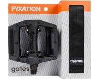 Fyxation Gates Pedals & Strap Kit (Black)