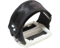 Fyxation Gates Pedals & Strap Kit (White)