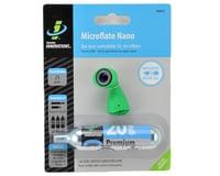 Genuine Innovations Microflate Nano CO2 Inflator (Green) (w/ 20g Cartridge)
