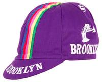 Giordana Team Brooklyn w/ Tape Cycling Cap (Purple)