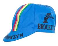 Giordana Brooklyn Cap w/ Stripes (Azzurro Blue) (One Size Fits Most)
