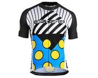 Giordana Motivo 2 Jersey (Blue/Black/White/Yellow)