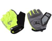 Giordana Strada Gel Short Finger Gloves (Fluo Yellow)