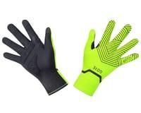 Gore Wear C3 Gore-Tex Infinium Stretch Mid Gloves (Neon Yellow/Black)