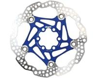 Hope Floating Disc Brake Rotor (Blue) (6-Bolt) (1)