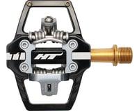 HT T1 Clipless Platform Pedals (Black) (Titanium)