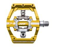 HT X2 Clipless Platform Pedals (Gold) (Chromoly)