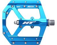 "HT AE03 Evo+ Platform Pedals (Marine Blue) (Aluminum) (9/16"")"